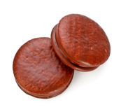 Chocolate Sandwitch Biscuits Stock Photography