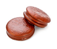 Chocolate Sandwitch Biscuits Royalty Free Stock Image