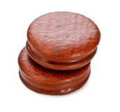Chocolate Sandwitch Biscuits Royalty Free Stock Images