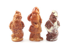 Chocolate Santa Stock Photos