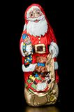 Chocolate Santa Claus Royalty Free Stock Photography