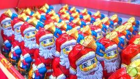 Chocolate Santa Claus Royalty Free Stock Photos