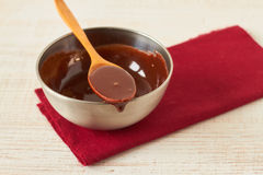 Chocolate sauce Royalty Free Stock Image