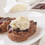 Chocolate Scone Royalty Free Stock Photos