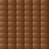 Chocolate seamless background Stock Image