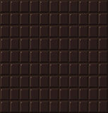 Chocolate seamless dark  handmade, bio food background Stock Image