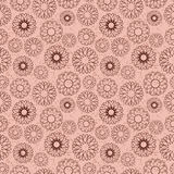 Chocolate Seamless Pattern Stock Photo