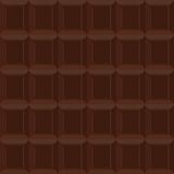 Chocolate  seamless pattern. Vector texture is of bittersweet ch Stock Photography