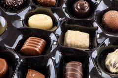 Chocolate selection Royalty Free Stock Images