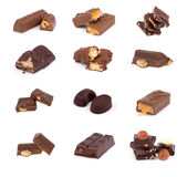 Chocolate set Stock Images