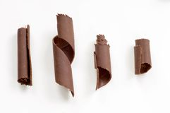 Chocolate shavings Royalty Free Stock Photos