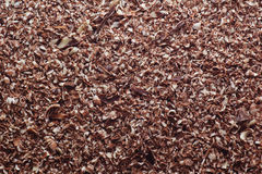Chocolate shavings Royalty Free Stock Images
