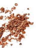 Chocolate shavings Stock Image