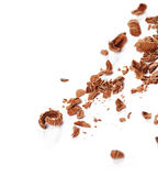 Chocolate shavings Stock Photos
