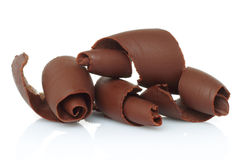 Chocolate shavings Royalty Free Stock Image