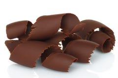 Chocolate shavings Stock Photography