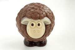 Chocolate sheep Royalty Free Stock Image