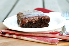 Chocolate Sheet Cake Stock Photography