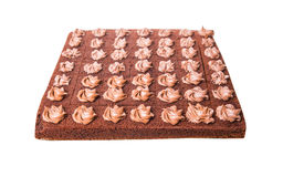 Chocolate Sheet Cake III Royalty Free Stock Image