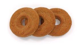 Chocolate shortbread cookies Stock Image