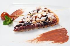 Chocolate Shortcake Stock Photography