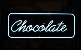 Chocolate Sign Royalty Free Stock Photos