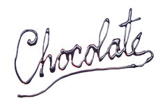 Chocolate sign Stock Images