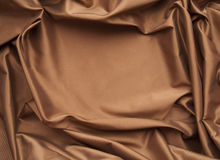 Chocolate silk frame Stock Images