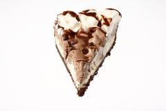 Chocolate silk pie Stock Image