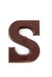 Chocolate Sinterklaas letter Stock Image