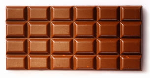 Chocolate slab background Royalty Free Stock Photo