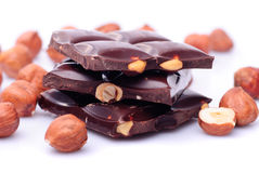 Chocolate sliced Royalty Free Stock Photo