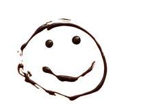 Сhocolate smiley Stock Image