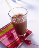 Chocolate smoothie Stock Image