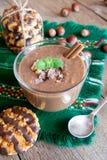 Chocolate smoothie Royalty Free Stock Photos
