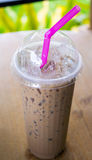 Chocolate smoothies Royalty Free Stock Photography