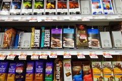 Chocolate Snacks Stock Photography