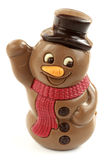 Chocolate snowman Royalty Free Stock Photography