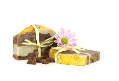 Chocolate soap. Royalty Free Stock Photography