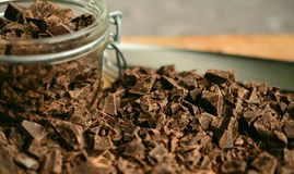 Chocolate, Soil, Chocolate Brownie, Flavor Stock Image