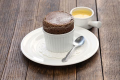 Free Chocolate Souffle Royalty Free Stock Photos - 68330938