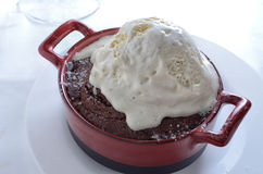 Chocolate Souffle Royalty Free Stock Photos
