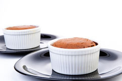 Chocolate Souffles Royalty Free Stock Images
