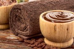 Chocolate spa Stock Afbeeldingen