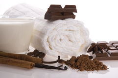 Chocolate spa Stock Photography