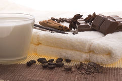 Chocolate spa Royalty Free Stock Images