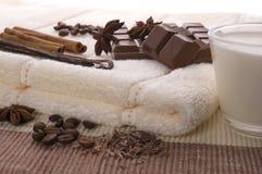 Chocolate spa Royalty-vrije Stock Fotografie