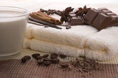 chocolate spa Στοκ Εικόνες