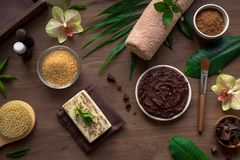 Chocolate Spa royalty free stock image