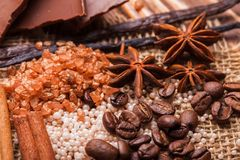 Chocolate spa Stock Photo